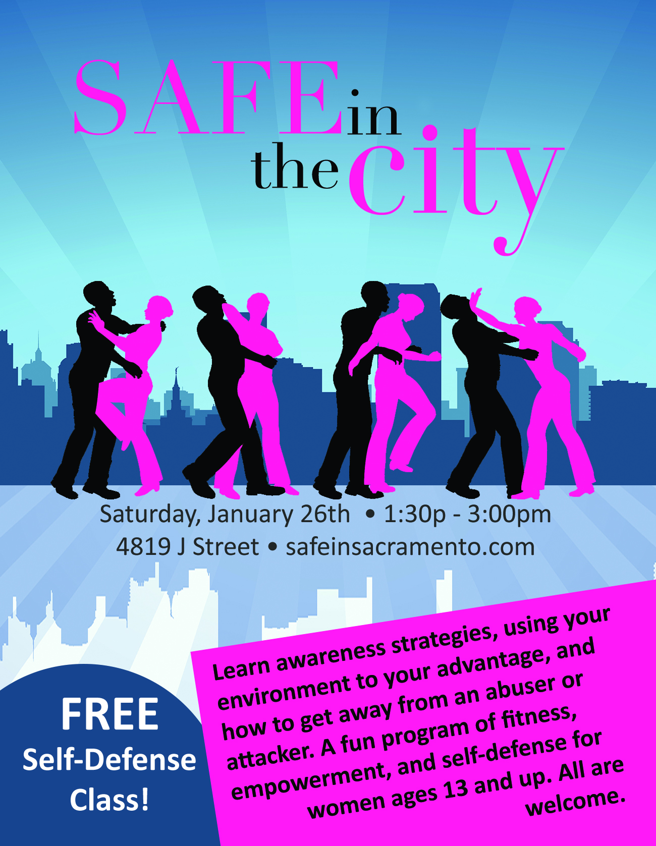 Safe in the City - Self-Defense Seminar